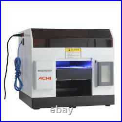 A4 UV Printer 6 Color for Cover case Glass Metal Wood Badge Signs & 3D Embossed