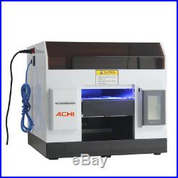 A4 UV Printer 6 Color for Phone case Glass Metal Wood PCB Signs 3D Embossed &INK