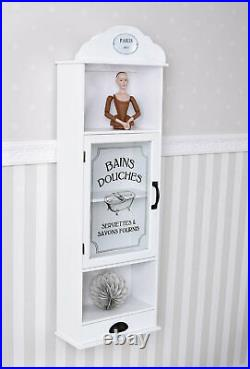 Apothecary Cabinet First Help Wardrobe Medicine Cabinet Display Case