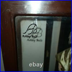 Ashley Belle Japanese Porcelain Doll In Wood And Glass Case