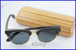 Bewell Wood Sunglasses Glasses Sandalwood with Case Polarized Ce Wood Glasses