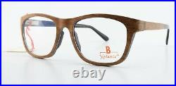 Brillenmann Glasses Xclusiv XC F38 85 53-18 140 Wood Handmade Ger + Leather Case