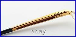 Bugatti Glasses 520 010 Padouk Wood Titanium Gold 54-19 Luxury Japan + Case