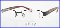 Bugatti Glasses 520 031 Padouk Wood Titanium 54-19 Luxury Frame Japan + Case