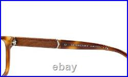 Burberry B 2149 3420 Men's Eyeglasses Glasses Brown Tortoise / Wood 53mm withcase