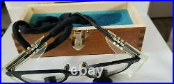 Designs For Vision Dental Surgical Loupe Telescope 2.5X Glasses Wood Case