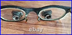 Designs For Vision Dental Surgical Loupe Telescope Glasses Vintage Wood Case