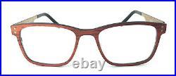 Eigensign Wood Socket/Glasses/Lunnettes 5714 C2 Incl. Orginal Case