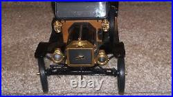 Franklin Mint 1913 Ford Model T 116 (1991) (with Glass /mirror/wood Case) Coa