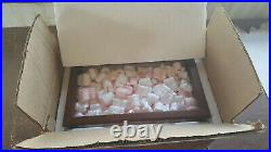 Franklin Mint wood/ glass/mirrored Deluxe Display Case D1X1537 Original Package