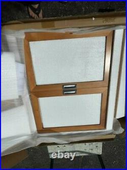 LEVENGER Bedford Wooden BOOKCASE Glass Door Section Natural Cherry Wood NEWinBOX