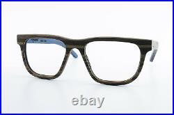 MYWOODI Wood Glasses Rio 02 M South Tyrol Designer Frame Blue New
