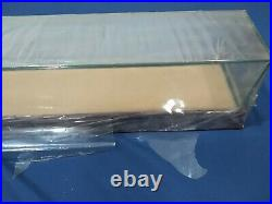 NEW REAL GLASS with CHERRY WOOD BASEBALL BAT Mirrored DISPLAY CASE 3 foot 36