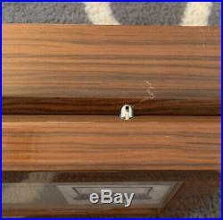 OYOBox Mahogany Maxi Luxury Eyewear Organizer Glasses Case Luxury Wood Case