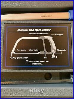 Platinum Magic Saw Blue Cuts Wood Metal Glass Plastic Rubber Nails Bolts Stone