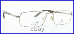 Rodenstock Glasses Rodaflex Twin Titanium Wood R4781 C 56-17 145 Men Frame +Case