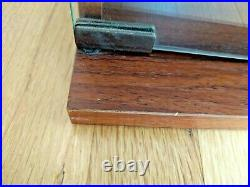 Sony Pressed Wood 3 Shelf Cassette Case with Glass Doors, Holds 99 Cassettes