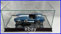 The 112 Scale Glass and Wood Display Case for scale Model Cars