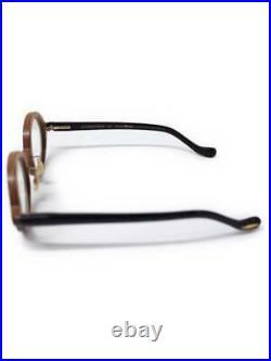 Used OLIVER PEOPLES × Ryuichi Sakamoto Wood Frame Glasses With Piano Type Case