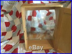 VINTAGE WOOD AND GLASS COUNTER TOP Display Case