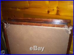 Vintage Wood & Glass Table Top DISPLAY CASE
