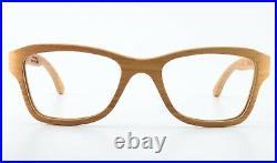 WOODONE Glasses Wood Brown Sirona 01 Handmade Südtirol Italy Lady + dior Case